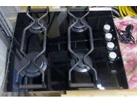 AEG Electrolux Glass gas hob model 69802G-M