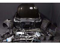 Full Front End RHD Bixenon Headlights Radiator pack Audi A6 2010 - 2016 SLine 4G5 4G2 4GD C7 RHD