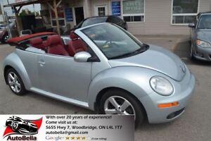 2009 Volkswagen New Beetle 2.5L Trendline Convertible Leather No