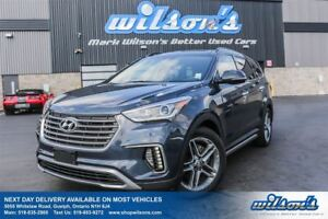 2017 Hyundai Santa Fe XL XL LIMITED AWD! LEATHER! NAV! PANO SUNR