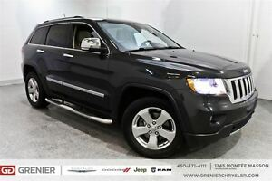 2011 Jeep Grand Cherokee Limited*Cuir, toit panoramique, Gps*
