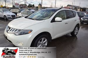 2010 Nissan Murano SL AWD Leather Sunroof Camera Bluetooth No Ac