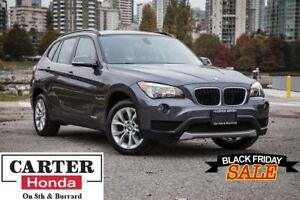 2014 BMW X1 xDrive28i + AWD + PANOROOF + HEATED SEATS!