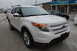 2012 Ford Explorer LIMITED, LEATHER, SUNROOF, NAV, 4 NEW TIRES
