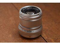Fujifilm XF50mm lens (Fuji XF-50 Fujinon)