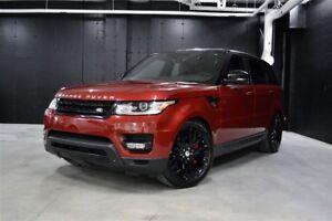 2014 Land Rover Range Rover Sport V8 Supercharged CERTIFIÉ 6ANS/