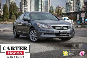 2012 Honda Accord EX-L V6 + LOCAL + LOW KMS + LEATHER