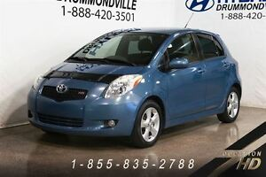 2007 Toyota Yaris RS + CLIMATISEUR + MAGS + DEMARREUR DISTANCE +
