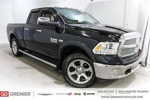 2014 Ram 1500 Laramie Crew*Cuir,Toit,Gps,Suspension à air*