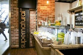 Juice Bar Staff required PT/FT