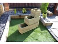 Heavy duty decking planters