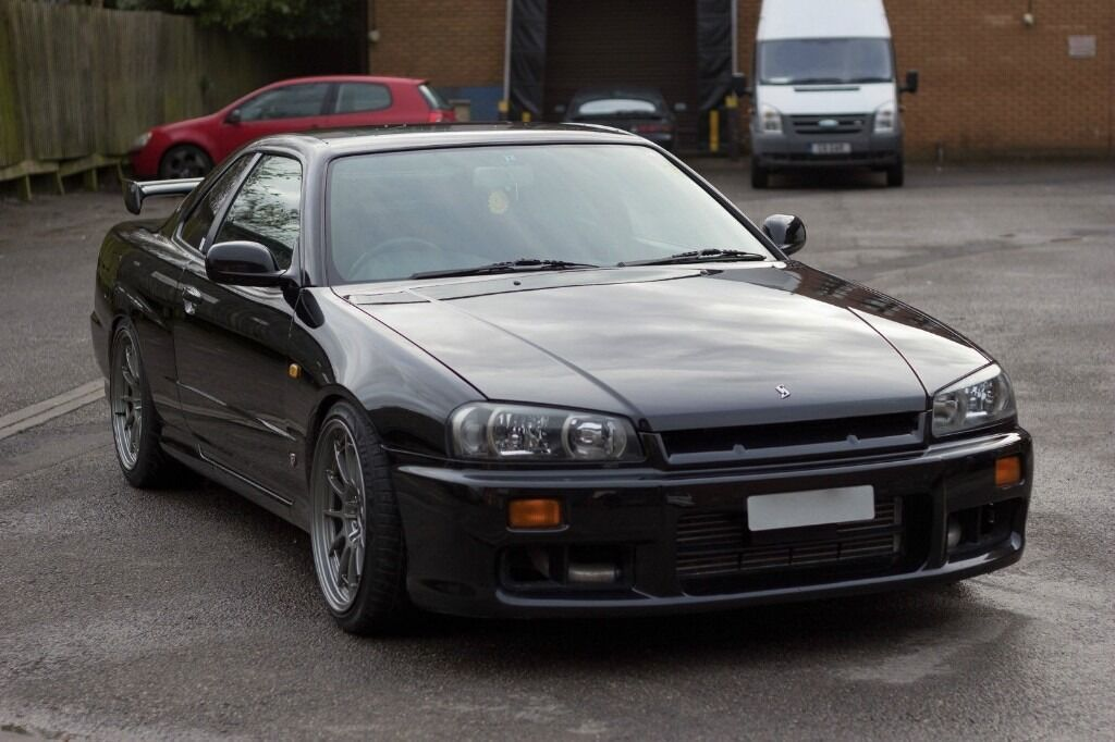 2000 nissan skyline r34 gtt 2 5 turbo r33 r32 modified. Black Bedroom Furniture Sets. Home Design Ideas