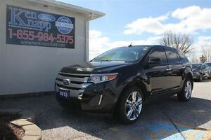 2013 Ford Edge SEL LEATHER NAV SUNROOF FWD