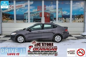 2015 Dodge Dart AERO, No-Accidents, Not Smoked In, Okanagan Car!