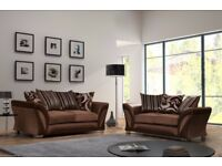 🔥💖💥SUPER COMFY & SMART💖BRAND NEW SHANNON CORNER OR 3+2 SOFA, SWIVEL CHAIR, UNIVERSAL CORNER SOFA