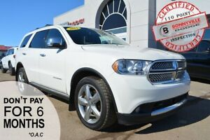 2011 Dodge Durango- LEATHER, SUNROOF, BACK UP CAMERA