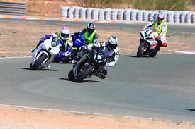 R1 race bike