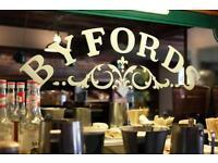 Inspiring Deli Counter Assistants for Byfords Store £7.20 per hr plus bonus!