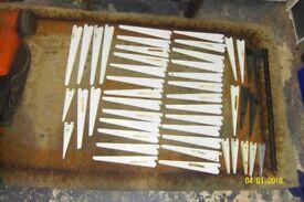 Sapphire Adjustable steel shelving straight brackets, (large selection)