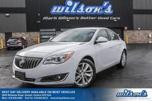 2015 Buick Regal LEATHER! REAR CAMERA! HEATED SEATS! POWER DRIVE