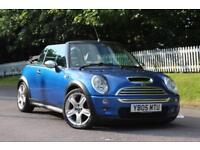 MINI CONVERTIBLE 1.6 COOPER S 2d 168 BHP 5 STAR AWARD WINNING DEALER (blue) 2005