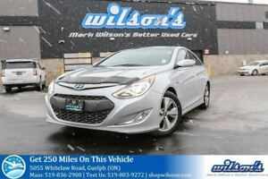 2012 Hyundai Sonata Hybrid HYBRID LEATHER! NAVIGATION! PANORAMIC