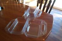 Clear Plastic Clamshell Containers
