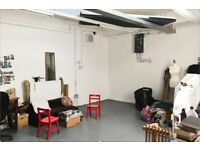 ART STUDIO AVAILABLE IN BRIXTON TO SHARE WITH TWO OTHER ARTISTS