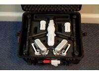 dji Inspire 1 pro with X5 camera and peli case