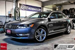 2013 Volkswagen Passat Highline LEATHER! NAV! ROOF!