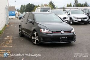 2015 Volkswagen Golf GTI 2.0 TSI 5-DOOR AUTOBAHN AUTO, LEATHER,