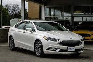 2017 Ford Fusion SE AWD Leather & Moonroof & Navigation Certifie