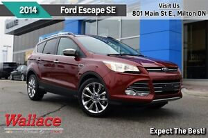 2014 Ford Escape SE/1-OWNER/ACCIDENT-FREE/HTD SEATS/MOONROOF/REA