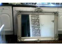 Lovely silver frame mirror