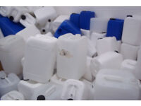 Plastic containers 25ltrs, 10ltrs, 5ltrs drums, mixed sizes £1 per drum all sizes
