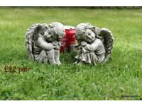 Angel garden ornaments e.g.