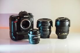 Nikon D7000 + 3 lenses + accessories