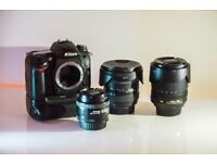 Nikon D7000 + 3 lenses + accessories