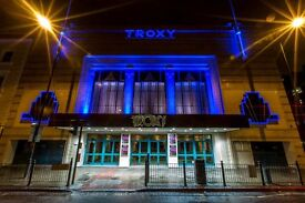Casual Bar Staff needed! - £8.50ph! - @ Live events venue The Troxy