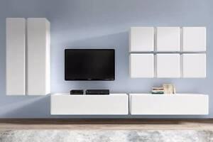10 Piece Living Room Set - Possi Light Malaga Swan Area Preview