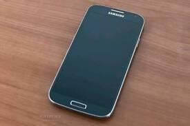 Samsung S4 Jet black 16 GB