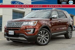 2016 Ford Explorer FORD COMPANY DEMO, TOP OF THE LINE PLATINUM!