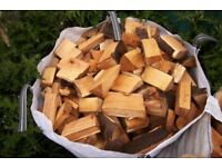 1 ton bag of split sycamore hardwood, firewood/log burner/patio heater