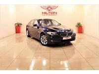 BMW 5 SERIES 2.0 520D SE 4d AUTO 181 BHP (blue) 2010