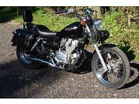 Motorbike 1997 Honda Rebel CMX 250 C Black. Low mileage - only 5012 miles. Stunning bike.