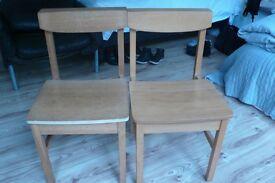 Retro vintage chairs