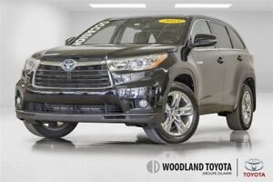 2015 Toyota Highlander Hybrid TOIT PANORAMIQUE / GPS / MAGS /