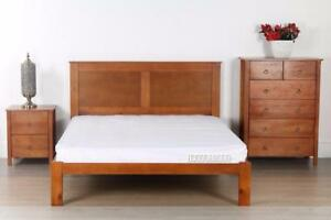 Metro Solid Wood  3 piece bedroom combo for $599, three colors available--Larges store in Edmonton
