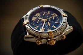 Breitling B13055 Crosswind automatic mechanical chronograph wristwatch - Swiss- '90s -Original model