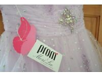 Prom Dress Size 8 excellent condition . £80